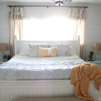 Coastal Master Bedroom |Reveal