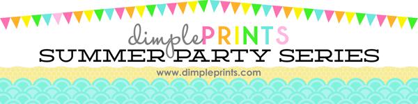 Dimple Prints- cutest party printables ever!