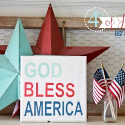 God Bless America | sign tutorial