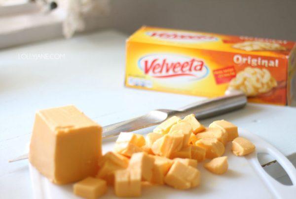 Creamy Velveeta cheesy chicken chili in progress! Yummers!