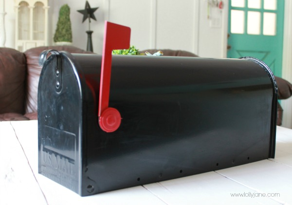 Standard mailbox about to get a facelift!