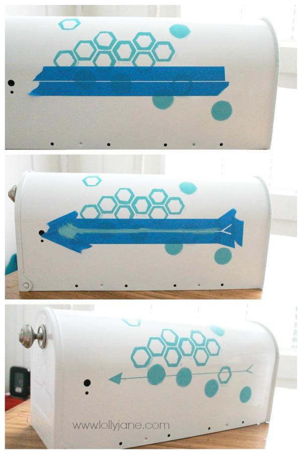 Make this cute octagon mailbox!