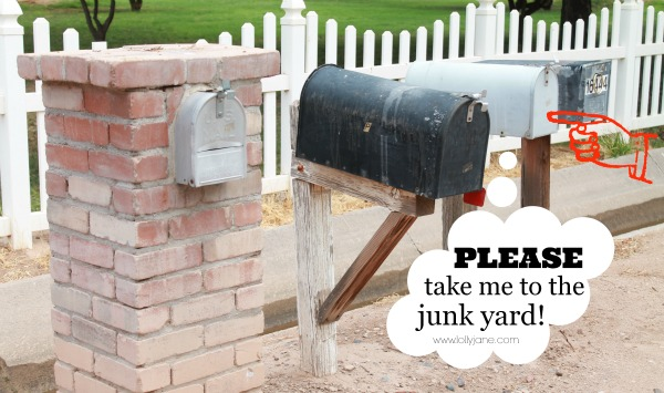 Please give this mailbox a makeover!