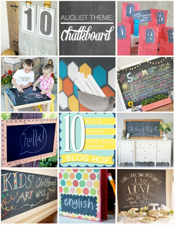 10 DIY chalkboard ideas!!