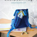 Back-to-school FREE back pack tag printables