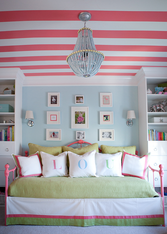 Cute Painted Ceiling