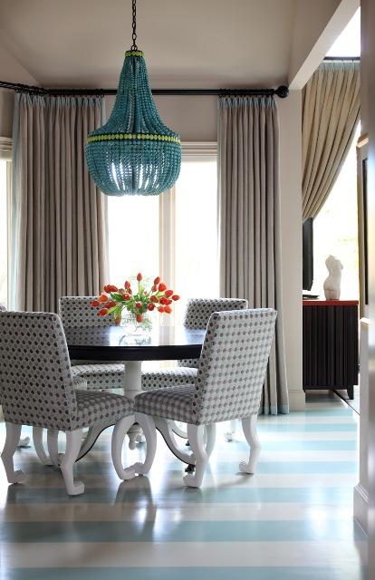 Beautiful striped floor
