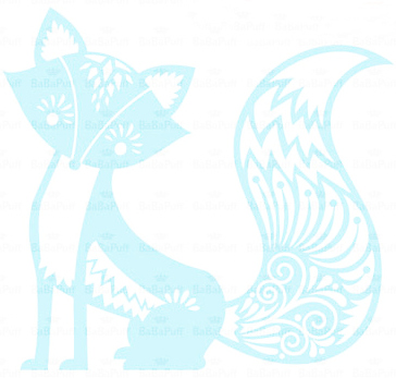 Cute fox clipart!