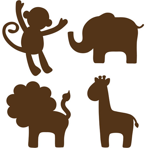 Nursery animal clipart.