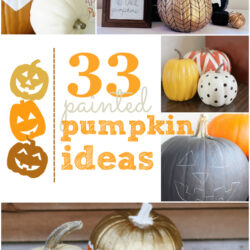 33 decorative painted pumpkin ideas!