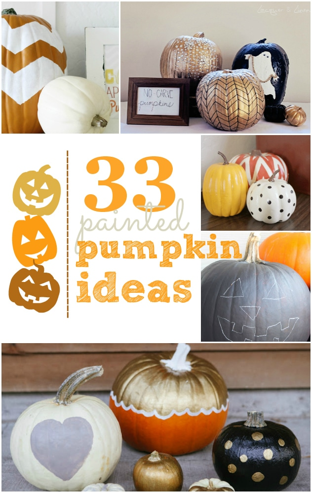 33 decorative painted pumpkin ideas!  sc 1 st  Lolly Jane & 33 decorative painted pumpkin ideas! - Lolly Jane