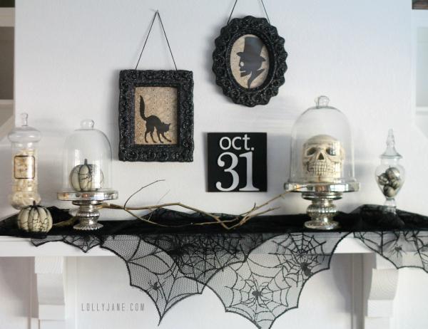 Halloween Decor, DIY Halloween Decor, Halloween Home Decor, DIY Decor, DIY Holiday, Holiday Home Decor, Elegant Halloween Decor, DIY Elegant Halloween Decor
