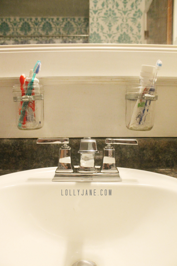 Easy instructions on how to install a bathroom faucet. #diy #howto