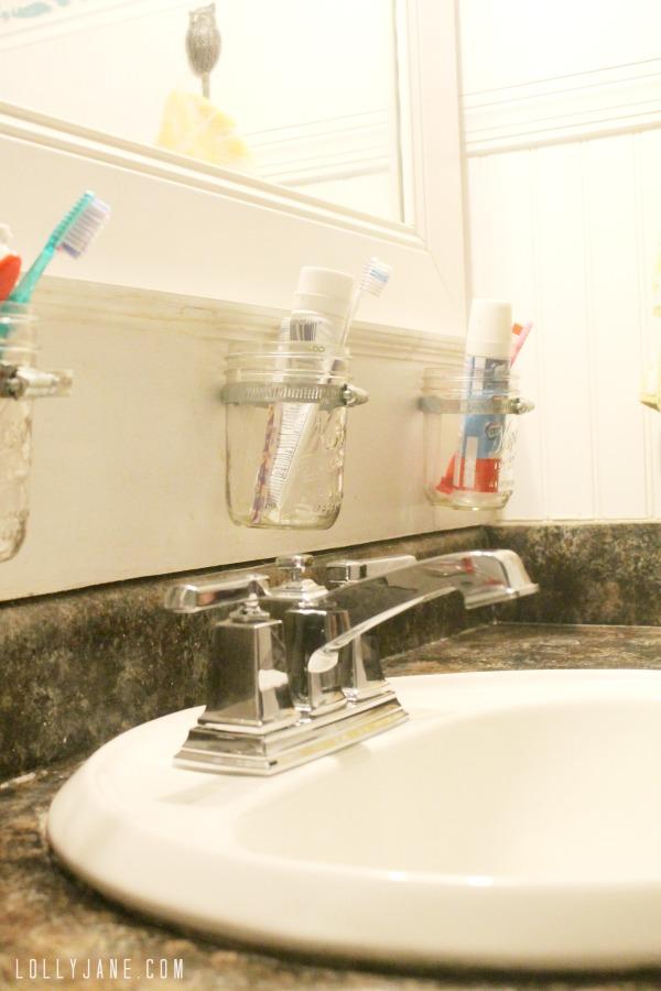 How to install a bathroom faucet. DIY steps!