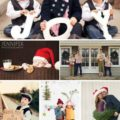 25 CUTE Family Christmas Picture Ideas! |via LollyJane.com