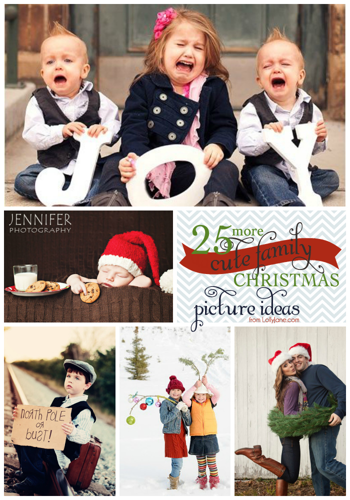 25 more cute family christmas picture ideas lolly jane. Black Bedroom Furniture Sets. Home Design Ideas