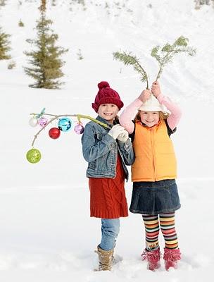 Adorable family Christmas card idea