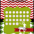 Free countdown to Christmas printables from www.lollyjane.com