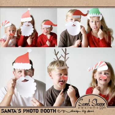 Cute family Christmas card idea