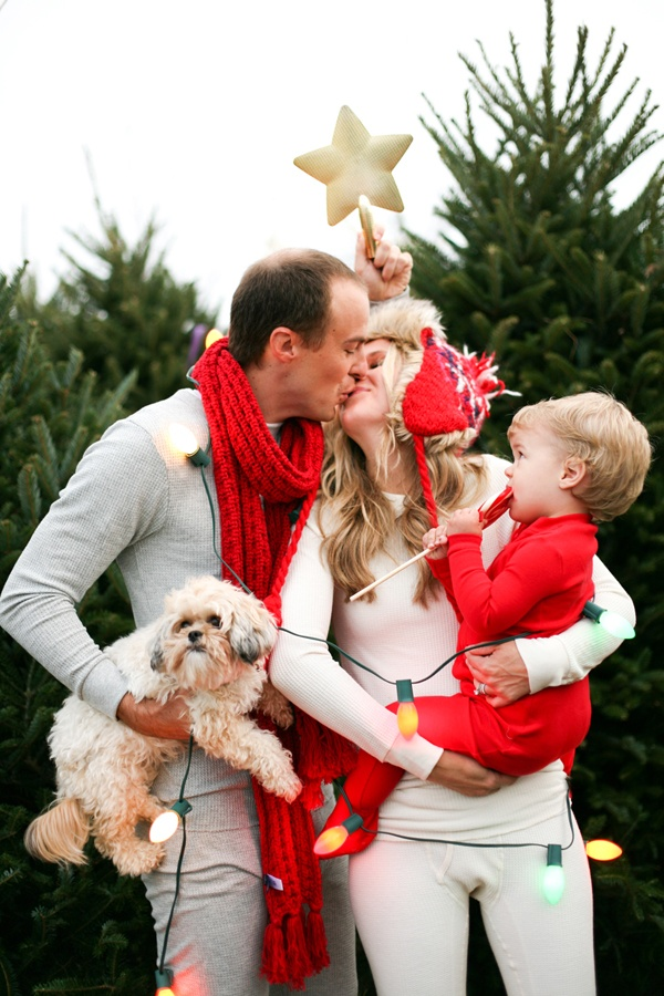 Cute family Christmas pictures