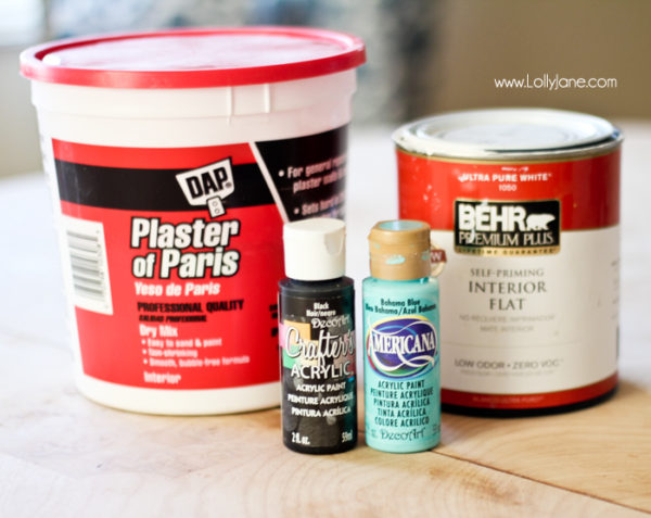 DIY chalk paint in any color formula | www.lollyjanecom