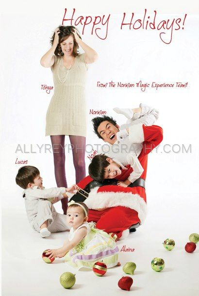 silly family christmas picture ideas
