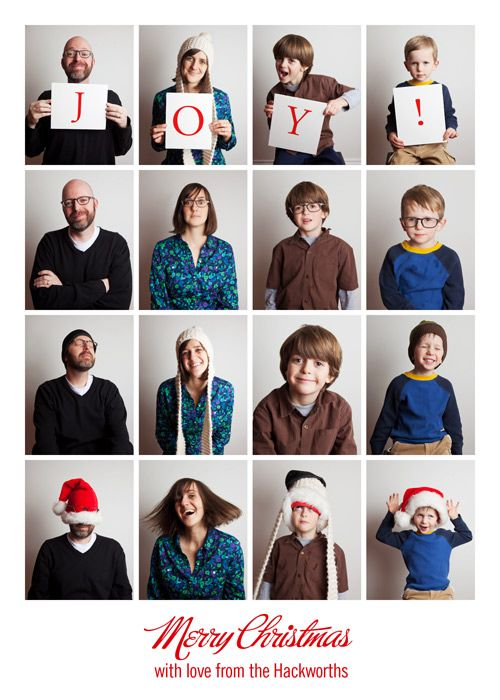 Stinkin' cute family Christmas card ideas