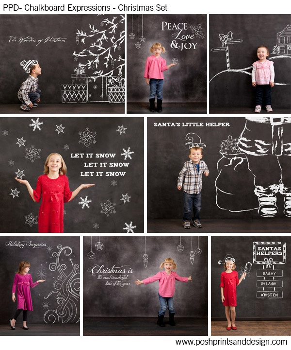 Very cute family Christmas card idea