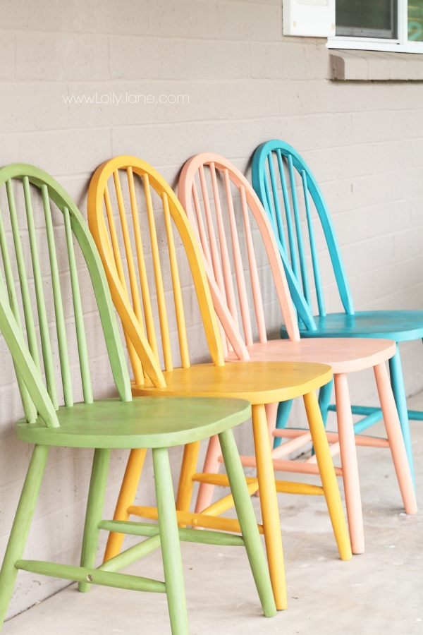 How to use Americana Chalky Paint finish on furniture. Huge variety of colors!