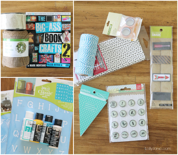 Win all these cute crafts on lollyjane.com! #giveaway