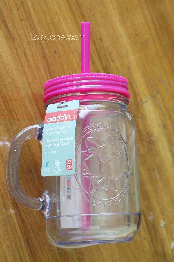 Win this mason jar tumbler on lollyjane.com! #giveaway