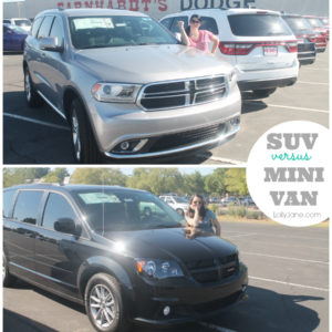 SUV versus MINIVAN #review