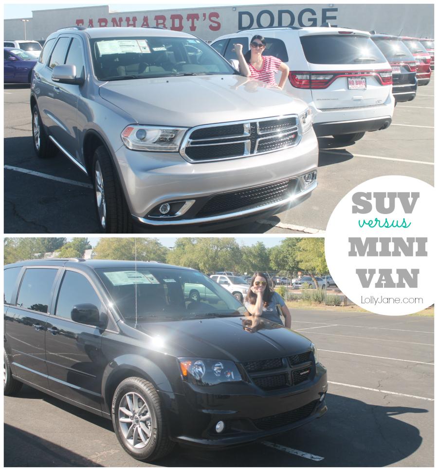 Suv Versus Minivan Review