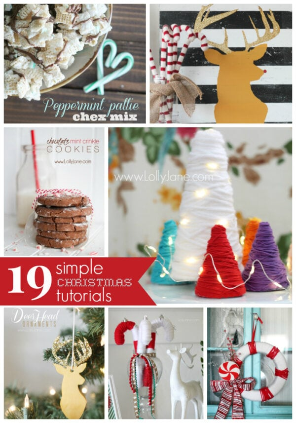 19 CUTE Simple Christmas Tutorials