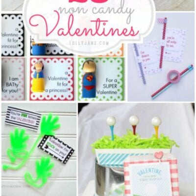 25 non candy Valentines
