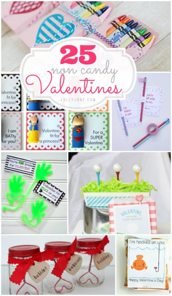 25 non-candy Valentines, so stinkin cute!!