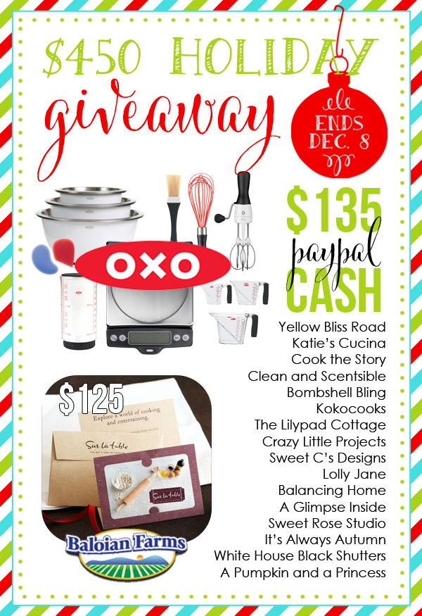 Cash holiday giveaway via lollyjane.com!