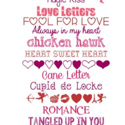 15 free Valentine's Day fonts