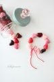 How to make an easy, edible candy heart bracelet for Valentine's Day! (lollyjane.com)