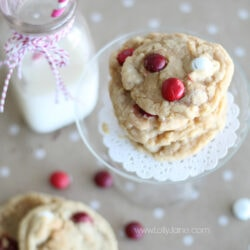 Red Velvet M&M Cookies