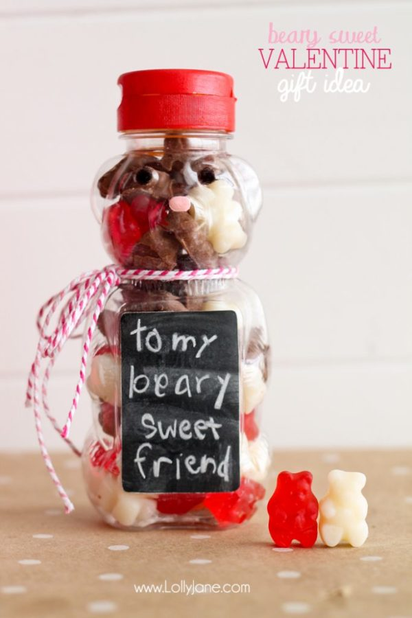 """Beary Sweet"" Valentine gift idea"