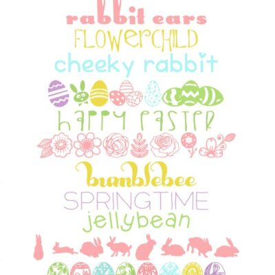 13 free Easter (and spring) fonts