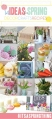 14 ideas for spring!! Craft, decor, recipes. SO CUTE!