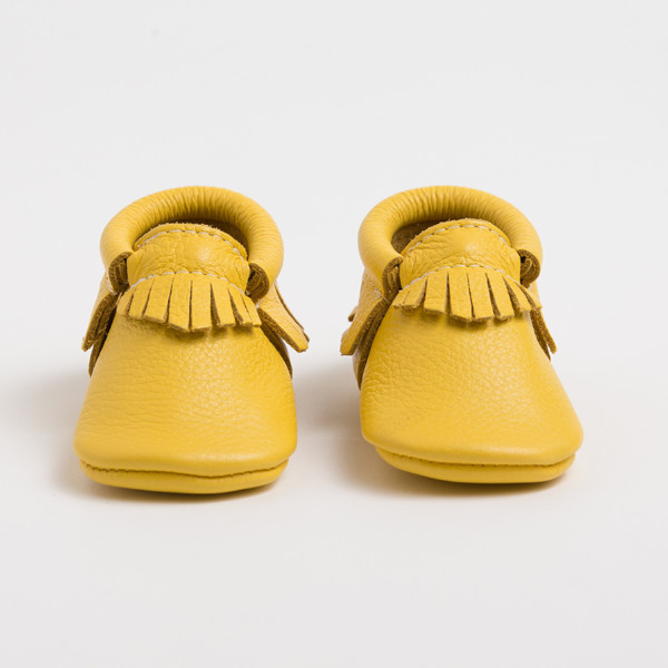 Cuuuuute! Golden Rod moccs!
