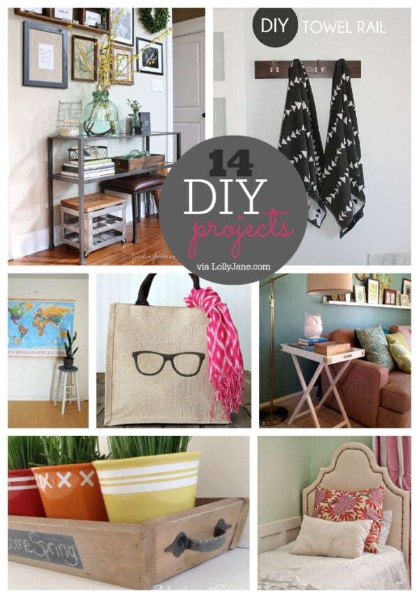 14 DIY Ideas... so cute and most of these are handmade!