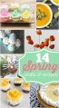14 spring crafts and recipes, so cute and yummy! @lollyjaneblog
