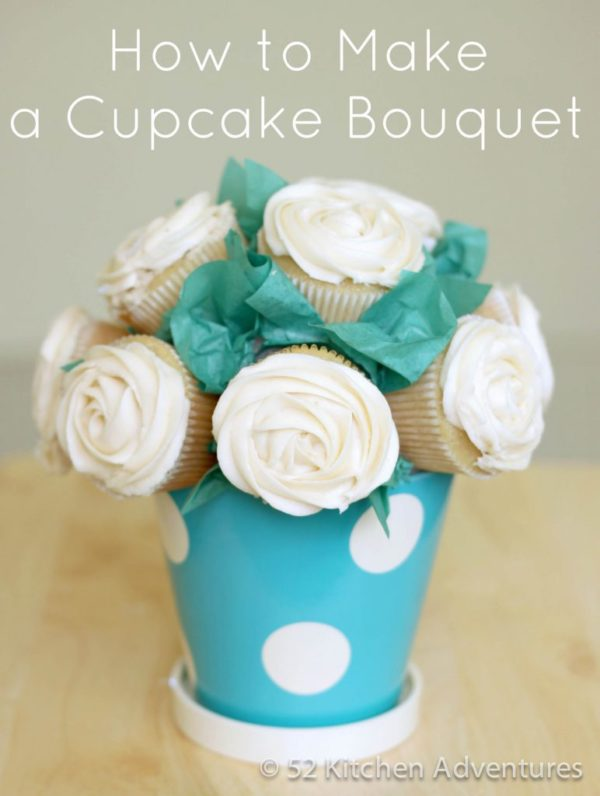 Cupcake Bouquet + Tons of other Mothers Day gift ideas!