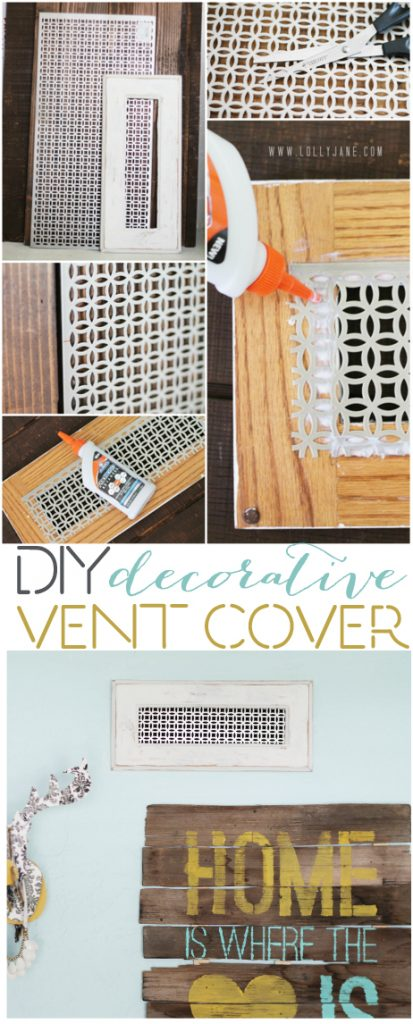 Diy Decorative Vent Cover