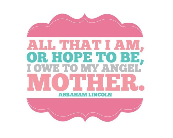 Mother printable + Lots of other Mothers Day Ideas!