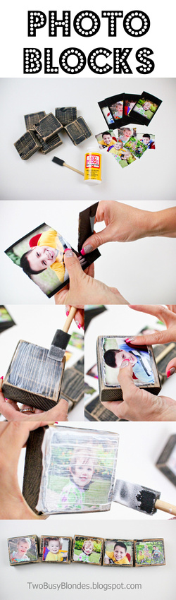 Photo Blocks for Mom | Click for even MORE Mothers Day gift ideas!